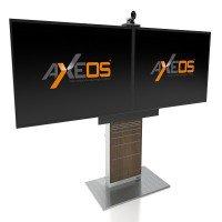 mobilier audiovisuel de visioconférence AXEOS