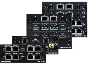 Cartes streaming crestron