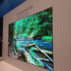 Mur LED Samsung