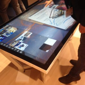 Table interactive NEC