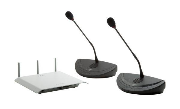 systeme de conference sanf fil Televic Confidea