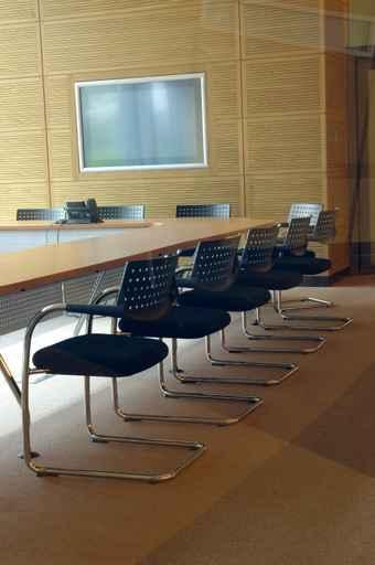 Salle de réunion écran plat