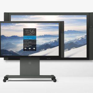 écran tactile microsoft surface hub