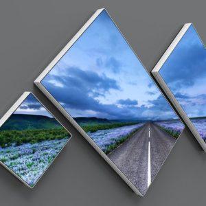 Mur d'images Planar Mosaic