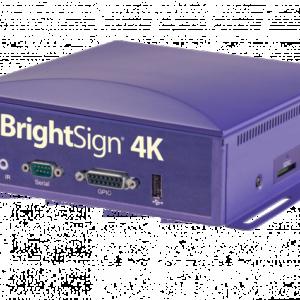 player brightsign 4k affichage dynamique