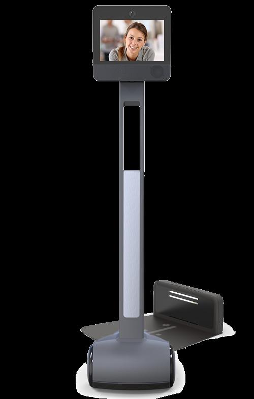 robot de visioconférence awabot beam+