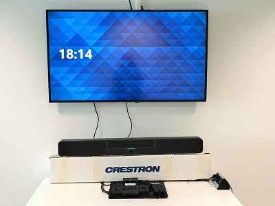 Arthesis participe à la mise en place d'un POC (Proof Of Concept) au côté de Crestron pour la solution Flex