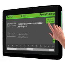 Système réservation de salle tactile INNES SMT210