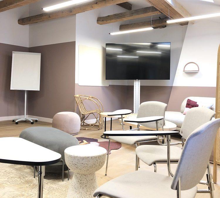 Equipement d'un superbe espace de séminaires à Lyon