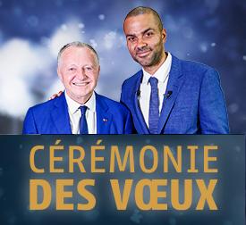Lyon Ceremonie voeux Ol business Aulas Tony Parker ASVEL