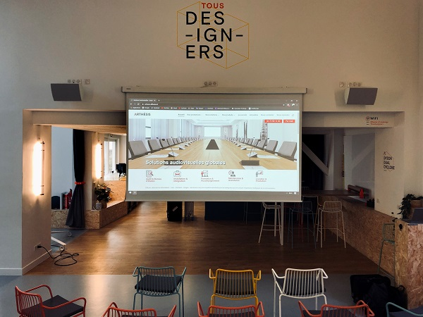 videoprojecteur laser House Of Co-design