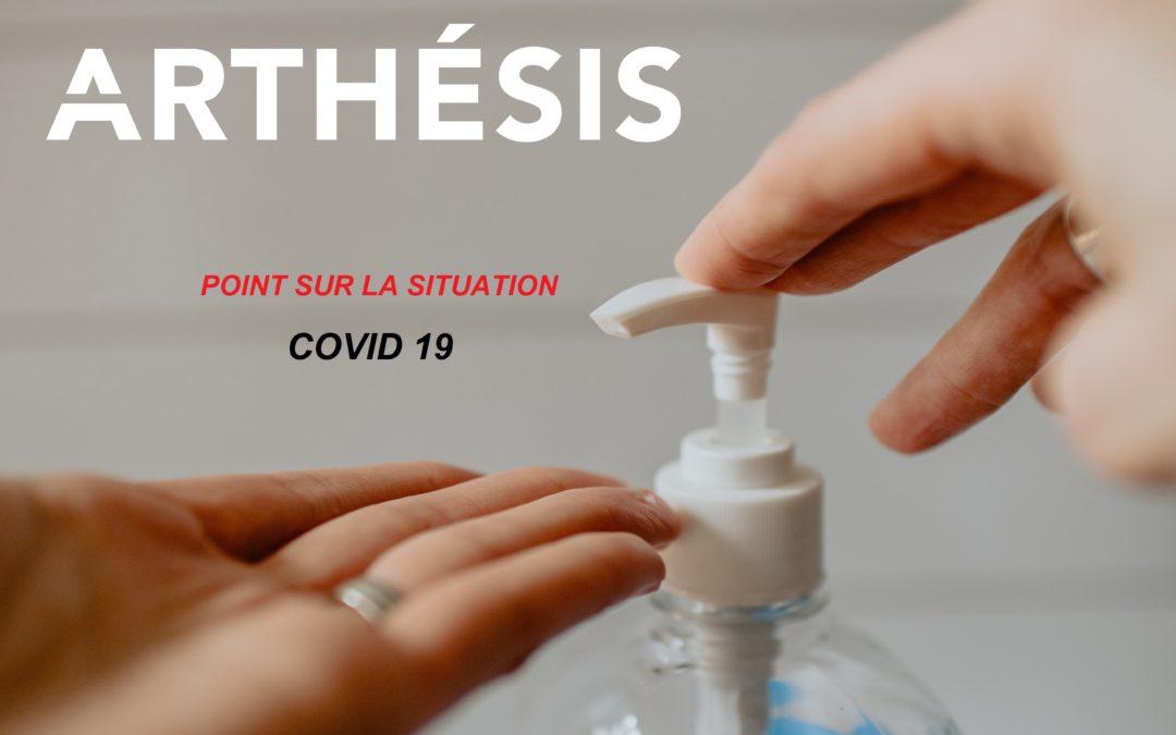 reprise de-confinement coronavirus Arthésis