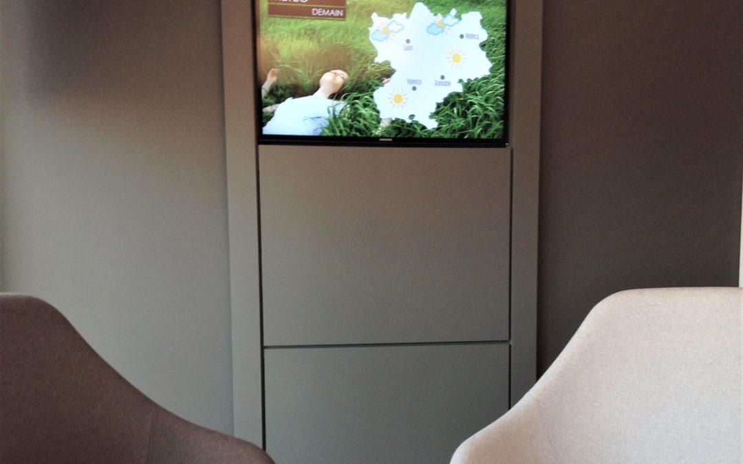 installation télévision hôpital hôtel