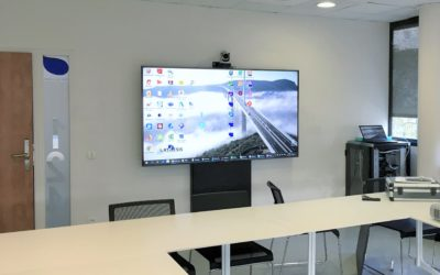 Equipement à Lyon d'une salle de réunion visio compatible Cisco Webex