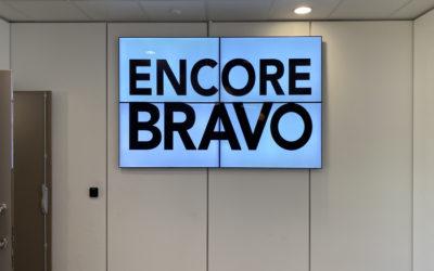 Installation d'un mur d'images chez notre client lyonnais : Eiffage Énergie Systèmes
