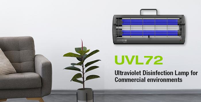 Désinfection par Lampes Ultraviolets UVC