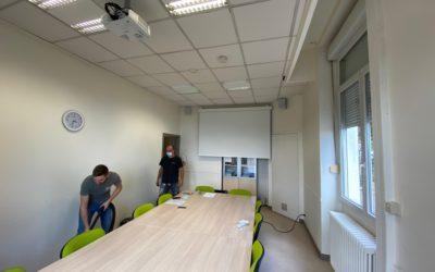 Salles de réunion et webconférence