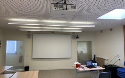 Equipement d'une salle de visioconférence