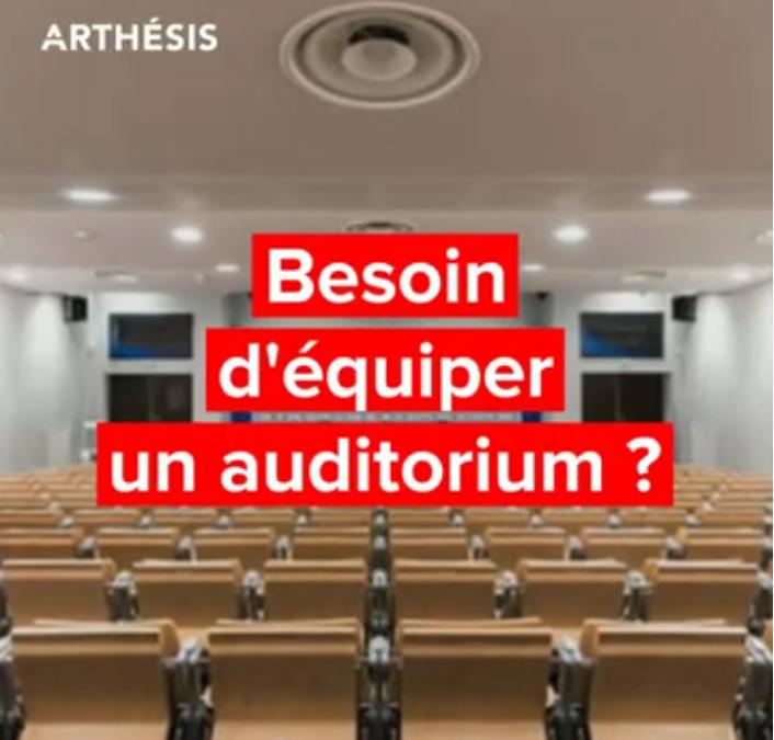 équipements pour auditorium