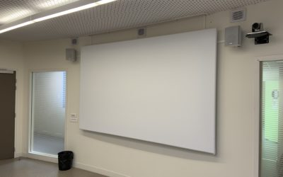 Modernisation d'une grande salle de réunion