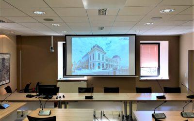 Modernisation de la salle du conseil et d'une salle de sous-commission