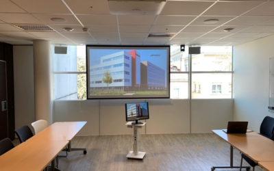 Refonte complète de l'équipement audiovisuel d'une association médicale