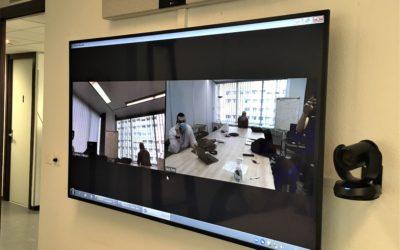 Un équipement audiovisuel pour rapprocher différents sites