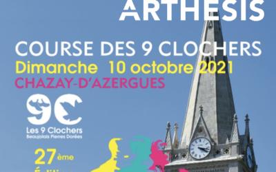 Course des 9 clochers, 27ème édition : Arthésis sponsors fidèle !
